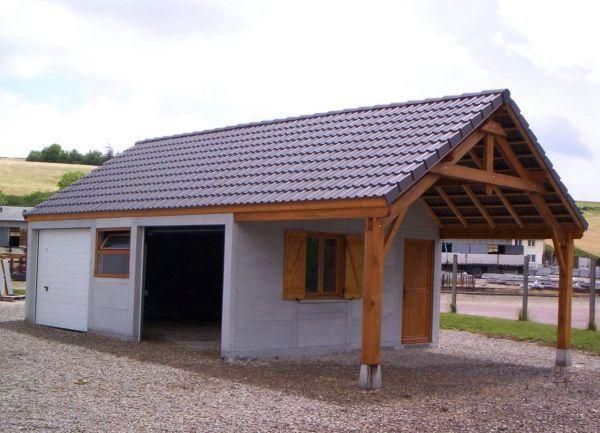 Abri en bois - Abri de jardin en beton prefabrique ...